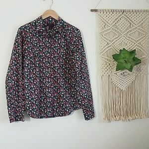 J.Crew Button Down Shirt in Liberty Fabric